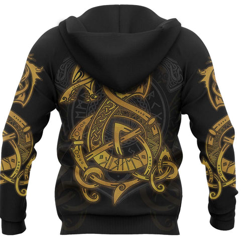 Image of 1stIceland Viking Hoodie Fenrir TH4 - 1st Iceland