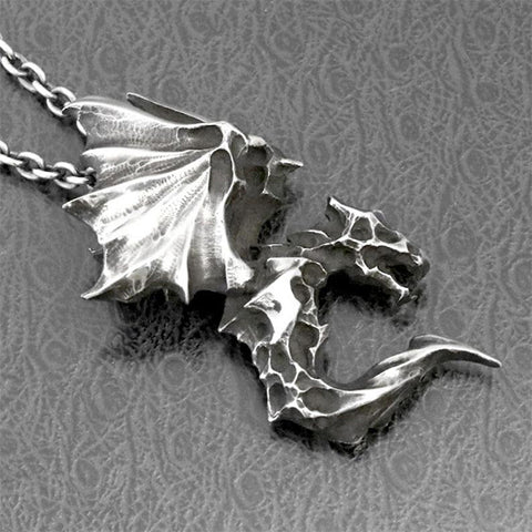 Demon Dragon Necklace TH7