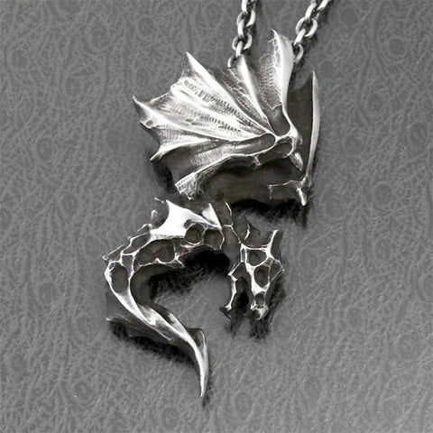 Image of Demon Dragon Necklace TH7