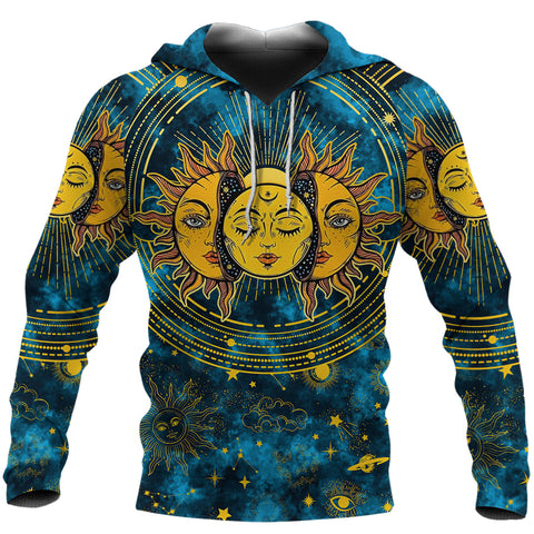 (Custom) 1stIceland Moon And Sun Hoodie Special Version | 1sticeland.com