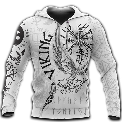 1stIceland Viking 3D Printed Unisex Hoodie Tattoo TH12 - 1st Iceland
