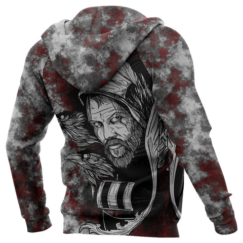(Custom) 1stIceland Viking Floki 3D Printed Unisex Hoodie Art Style TH12 - 1st Iceland
