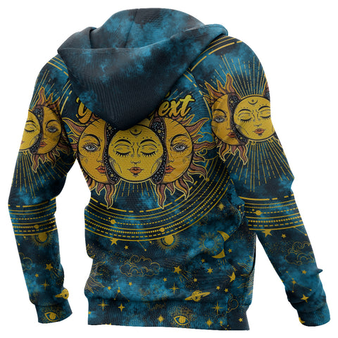 Image of (Custom) 1stIceland Moon And Sun Hoodie Special Version | 1sticeland.com