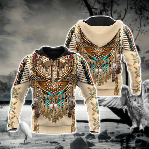 Image of 1st Iceland Eagle Dreamcatcher Native Americane Hoodie TH12 - 1st Iceland