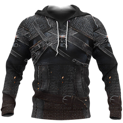 Image of 1stIceland Pullover Hoodie, 3D Witcher Armor TH00 - 1st Iceland