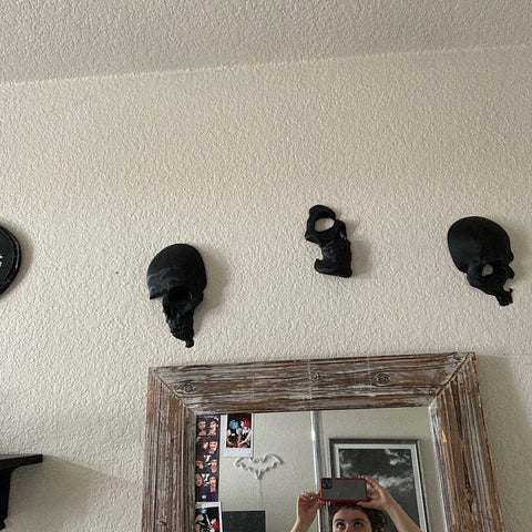 3pcs/set Skull Wall Art Decor TH10 - 1st Iceland