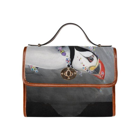1stIceland Waterproof Canvas Bags, Icelandic Puffins Ha8 - 1st Iceland
