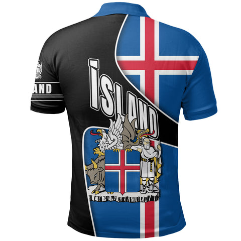 Image of 1stIceland Polo Shirt, Heart and Soul K5 - 1st Iceland