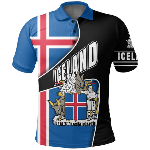 1stIceland Polo Shirt, Heart and Soul K5 - 1st Iceland
