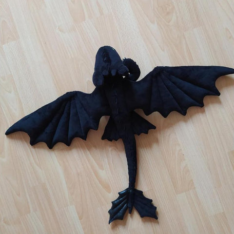 Night Fury Toothless Plushie TH10 - 1st Iceland