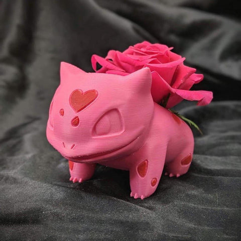 Valentines Special Pink Bulbasaur Planter TH10 - 1st Iceland