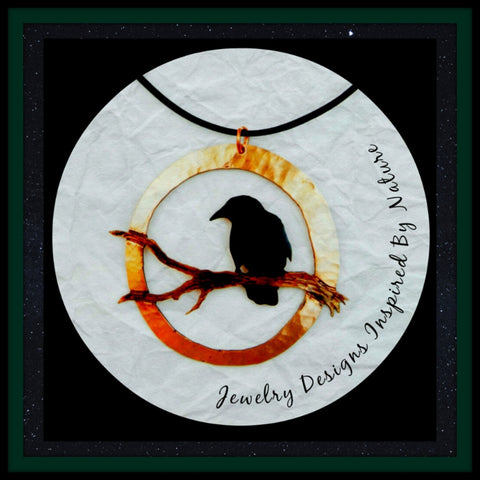 Raven Necklace TH10