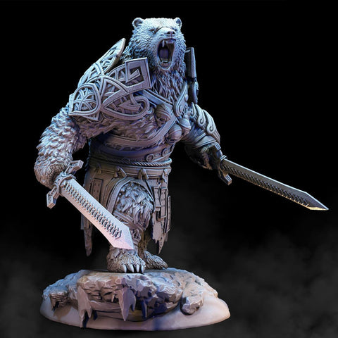 Image of 3D Viking, Armored Bear Vanguard Viking K2 - 1st Iceland