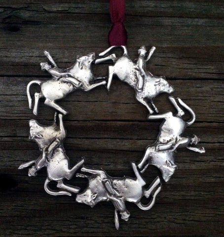 1stIceland Christmas Decoration, Western Bull Riding - 1st Iceland