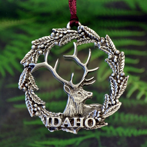 1stIceland Christmas Ornament, Idaho - 1st Iceland