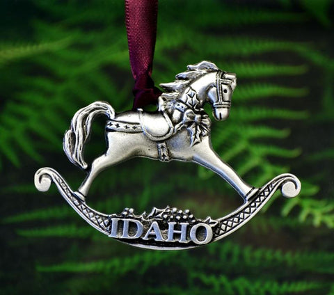 1stIceland Idaho Christmas Ornament Rocking Horse - 1st Iceland