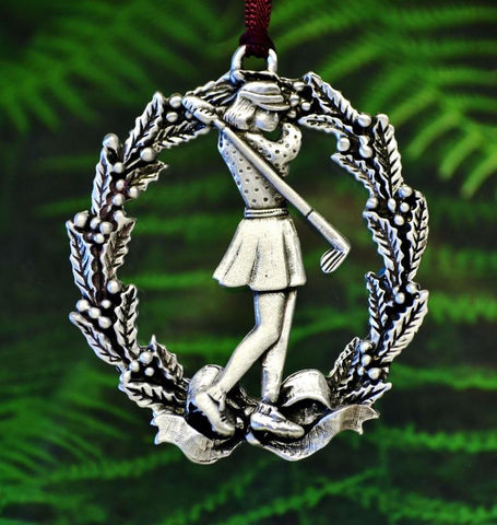 1stIceland Christmas Decoration, Lady Golfer - 1st Iceland