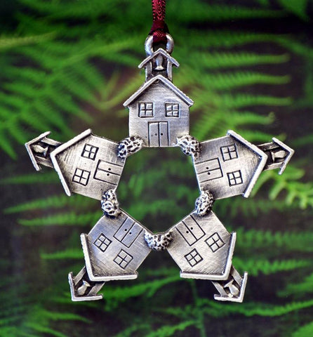 1stIceland Viking Christmas Ornament, Schoolhouse - 1st Iceland