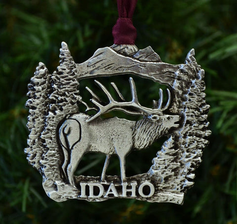 1stIceland Christmas Ornament, Idaho Elk - 1st Iceland
