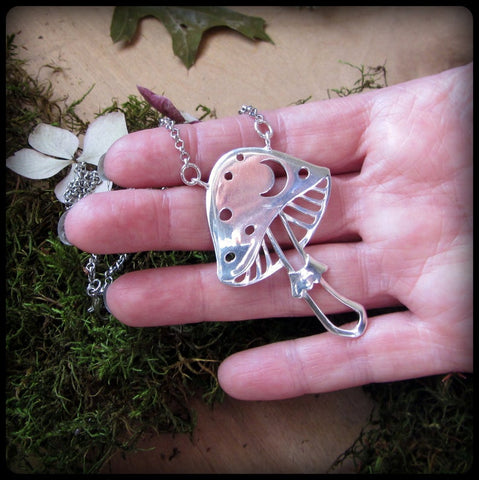Image of Mushroom Necklace TH19