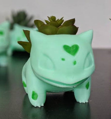 Valentines Special Pink Bulbasaur Planter TH10