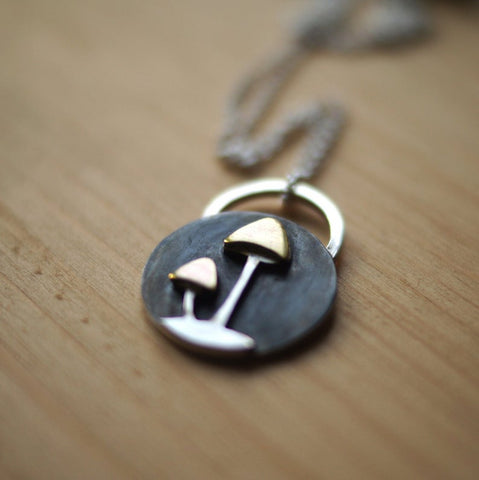 Mushroom Necklace For Women TH19