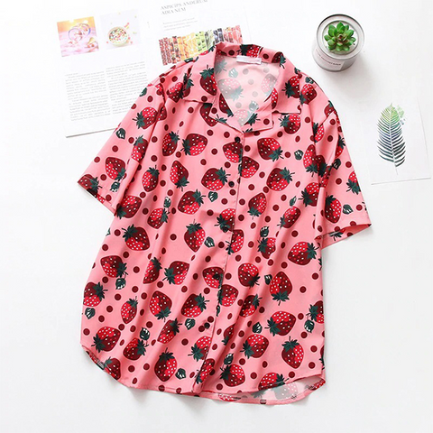 Image of Kawaii Strawberry Shirt TH19