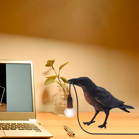 Raven Bird LED Lamp Light TH19 - 1st Iceland