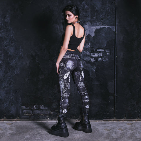 Gothic Leggings TH17 - 1st Iceland