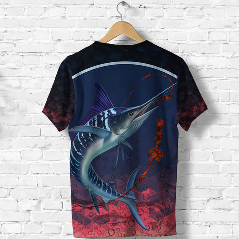1stIceland Marlin Fishing T Shirt K8 - 1st Iceland