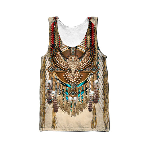 1stIceland Eagle Dreamcatcher Native American Men's Tank Top TH12 - 1st Iceland