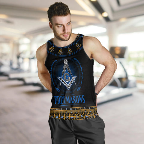 1stIceland Freemasonry Men's Tank top TH5 - 1st Iceland