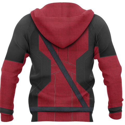 1stIceland Zip-Up Hoodie, 3D Deadpool All Over Print TH79 - 1st Iceland