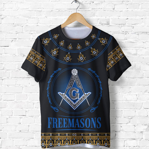 Image of 1stIceland Freemasonry T Shirt TH5 - 1st Iceland