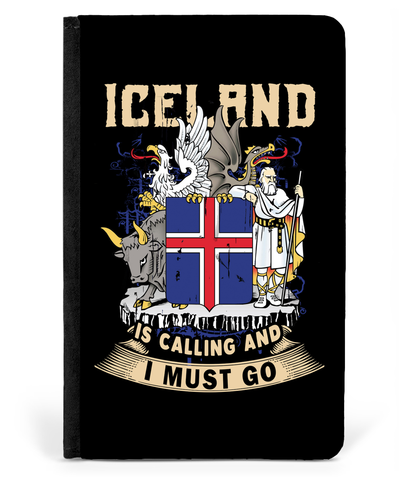 1stIceland Passport Case, Iceland Coat Of Arms Is Calling and I Must Go A2 - 1st Iceland