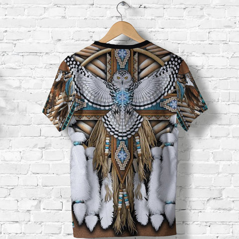 Image of Native American Breastplate T Shirt K8 - 1st Iceland