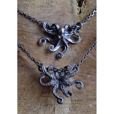 Antique Octopus Necklace TH17 - 1st Iceland