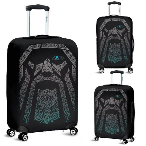 1stIceland Viking Luggage Cover , Odin's Norse Mythology A3 - 1st Iceland