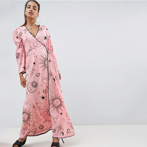 Zodiac Maxi Robe TH17