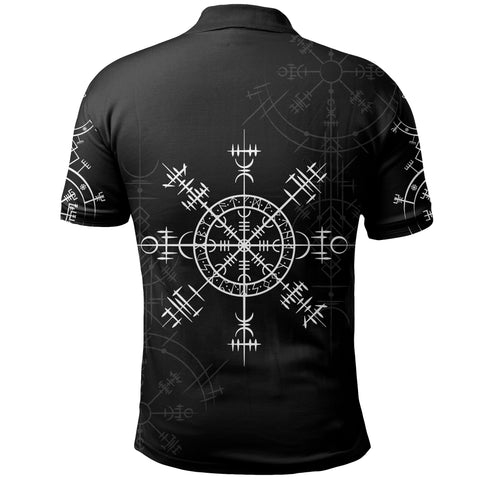 1stIceland Magic Ancient Viking Tattoo Polo Shirt TH4