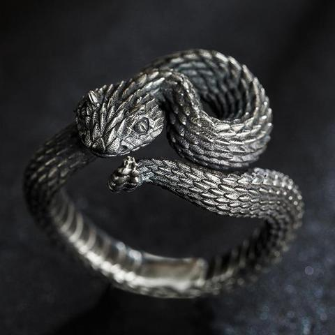 Image of Snake-Shaped Ring TH19