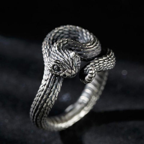 Snake-Shaped Ring TH19