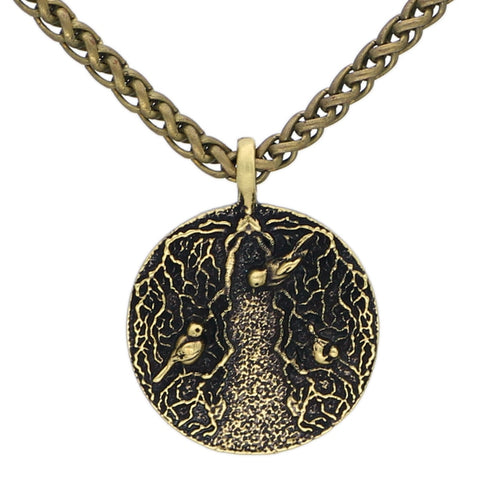 1stIceland Jewelry, Norse Vikings Yggdrasil Tree Of Life Stainless Steel Necklace - 1st Iceland