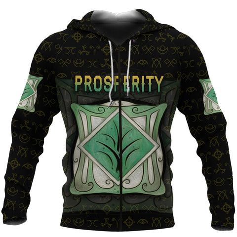 1stIceland The Elves of Fyn Zip Hoodie Prosperity K8 - 1st Iceland