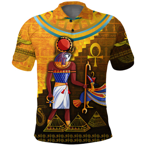 1stIceland Ra Polo Shirt Egyptian God K8 - 1st Iceland