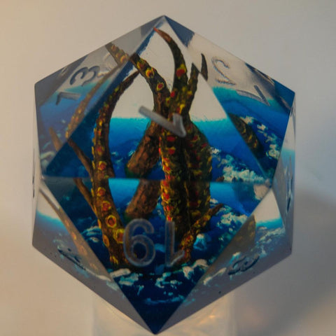 Image of Kraken D20 Dice TH10 - 1st Iceland