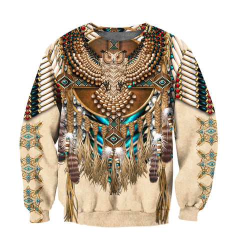 1sticeland Eagle Dreamcatcher Native American Sweatshirt TH12 - 1st Iceland