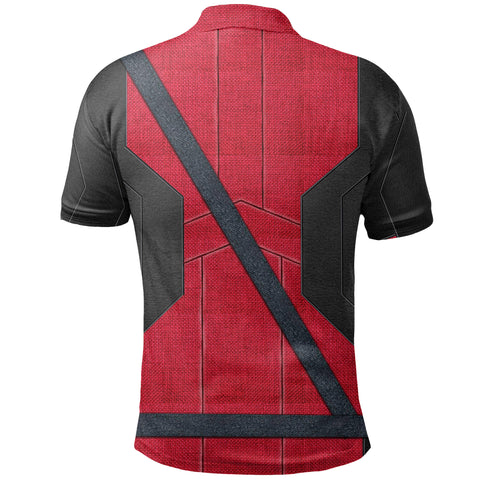 1stIceland Polo Shirts, 3D Deadpool All Over Print TH79 - 1st Iceland