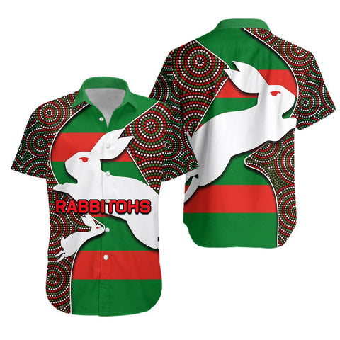Rabbitohs Hawaiian Shirt TH4 - 1st Iceland