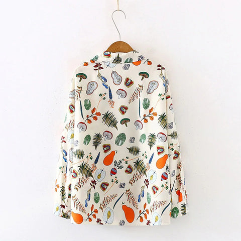 Plant Veggies Long Sleeves TH17 - 1st Iceland